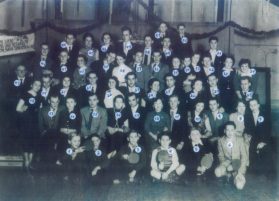 Vereinsmeisterschaft 1955