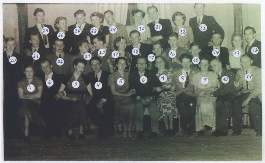 Vereinsmeisterschaft Dez. 1956