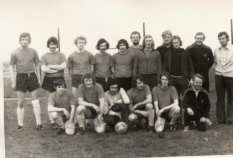 Fußballmannschaft 1973