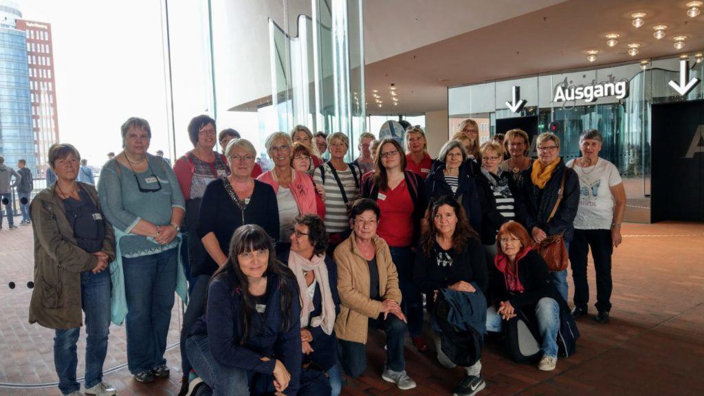 Ausflug der Frauen nach Hamburg
